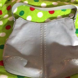 MK studded shoulder bag